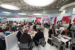 Corporate zone at Hama stand at 2016  IFA (Internationale Funkausstellung Berlin), Berlin, Germany