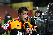 Chiefs Captain Mils Muliaina during his 100th Super rugby game, Investec Super 15 Rugby match, Chiefs v Stormers, at Waikato Stadium, Hamilton, New Zealand, Saturday 14 May 2011. Photo: Dion Mellow/photosport.co.nz