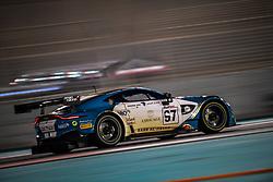 December 15, 2018 - Abu Dhabi, EMIRATS ARABES UNIS - 97 OMAN RACING ASTON MARTIN VANTAGE GT3 PRO AHMAD AL HARTHY (OMN) JONNY ADAM (GBR) DARREN TURNER  (Credit Image: © Panoramic via ZUMA Press)