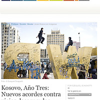 USE ARROWS ← → on your keyboard to navigate this slide-show<br /> <br /> Cafebabel - European on line magazine<br /> Photo report in Kosovo on March 2011.<br /> Photo: Ezequiel Scagnetti