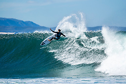 Mikey Wright (AUS) will surf in Round 2 of the 2018 Corona Open J-Bay after placing second in Heat 9 of Round 1 at Supertubes, Jeffreys Bay, South Africa.