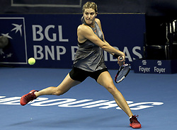 October 17, 2017 - Luxembourg, Luxembourg - Canadian player EUGENIE BOUCHARD - BGL BNP PARIBAS LUXEMBOURG OPEN 2017. (Credit Image: © Panoramic via ZUMA Press)