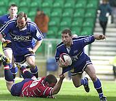 20020428  Gloucester Rugby vs Sale, Parker Pen Shield - Semi-Final