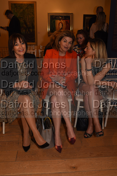 MADELEINE DELANY; ANNIE RODGERS; RACHEL NORTON, The Arthur Cox Irish Fashion Showcase 2015,  Irish based designers chosen to be part of this year's Arthur Cox Irish Fashion Showcases The Mall Galleries, London. 13 May 2015.