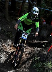 Matthew Walker of Cube Global Squad during day one of the 2017 UCI Mountain Bike World Cup at Fort William. PRESS ASSOCIATION Photo. Picture date: Saturday June 3, 2017. Photo credit should read: Tim Goode/PA Wire. RESTRICTIONS: Editorial use only, no commercial use without prior permission