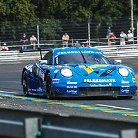 #78, Porsche 911 RSR, Proton Competition, drivers: Michele Beretta, Horst Felbermayr Jr., Max van Splunteren, LM GTE Am, at the Le Mans 24H, 2020, 19 September 2020