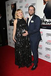 Alison Pill, Joshua Leonard bei der Premiere von Miss Sloane in Los Angeles<br /> <br /> / 111116<br /> <br /> <br /> ***Premiere von Miss Sloane in Los Angeles on november 11, 2016***