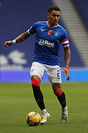 James Tavernier (Rangers) during the Scottish Premiership match between Rangers and Livingston at Ibrox, Glasgow, Scotland on 25 October 2020.