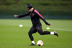 Arsenal Training - London Colney - 11 April 2018