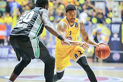 November 1, 2017 - Torino, Torino, Italy - Basketball Eurocup match between. Fiat Torino Auxilium and Darussafaka Basketball Istanbul. (Credit Image: © Federica Manzin/Pacific Press via ZUMA Wire)