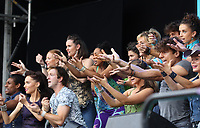 MAMMA MIA!  performing at westend live trafalgar square london photo by Roger Alacron