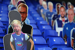 Boris Johnson cutout seen in the stands - Mandatory by-line: Arron Gent/JMP - 26/09/2020 - FOOTBALL - Portman Road - Ipswich, England - Ipswich Town v Rochdale - Sky Bet League One