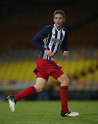 """West Bromwich Albion's Sam Field during the pre-season friendly match at Vale Park, Stoke. PRESS ASSOCIATION Photo. Picture date: Tuesday August 1, 2017. See PA story SOCCER Port Vale. Photo credit should read: Nick Potts/PA Wire. RESTRICTIONS: EDITORIAL USE ONLY No use with unauthorised audio, video, data, fixture lists, club/league logos or """"live"""" services. Online in-match use limited to 75 images, no video emulation. No use in betting, games or single club/league/player publications."""