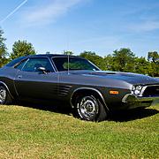 1973 Dodge Challenger on grass