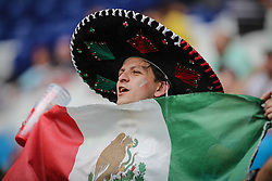 July 2, 2018 - Samara, Vazio, Russia - Twisted before the game between Brazil and Mexico valid for the octaves of finals of the 2018 World Cup held in Arena Samara, Russia, (Credit Image: © Thiago Bernardes/Pacific Press via ZUMA Wire)