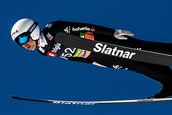 Simon Ammann (SUI) during the Trial Round of the Ski Flying Hill Individual Competition at Day 1 of FIS Ski Jumping World Cup Final 2019, on March 21, 2019 in Planica, Slovenia. Photo by Matic Ritonja / Sportida