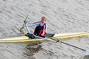 London, Great Britain, 2008 Scullers Head of the River Race,  raced over the Championship Course, Mortlake to Putney, on the River Thames.   Saturday, 06/12/2008. [Mandatory Credit: © Peter Spurrier/Intersport Images]