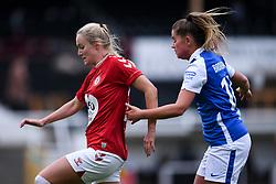 Jemma Purfield of Bristol City Women - Mandatory by-line: Ryan Hiscott/JMP - 18/10/2020 - FOOTBALL - Twerton Park - Bath, England - Bristol City Women v Birmingham City Women - Barclays FA Women's Super League