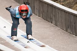 February 7, 2019 - Ljubno, Savinjska, Slovenia - Pauline Hessler of Germany competes on qualification day of the FIS Ski Jumping World Cup Ladies Ljubno on February 7, 2019 in Ljubno, Slovenia. (Credit Image: © Rok Rakun/Pacific Press via ZUMA Wire)