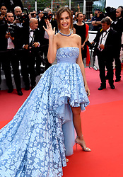 Josephine Skriver attending the Sorry Angel Premiere as part of the 71st Cannes Film Festival