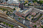 Nederland, Overijssel, Almelo, 30-06-2011; station Almelo en omgeving.QQQ..luchtfoto (toeslag), aerial photo (additional fee required).copyright foto/photo Siebe Swart