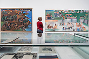 Jatra 1997-9 and Yagnya or Marriage 2000 - Bhupen Khakhar: You Can't Please All at Tate Modern. It is the first international retrospective of the Indian artist since his death. He was known for his vibrant, bold works that examine class and sexuality. The Exhibition runs from 1 June – 6 November 2016.