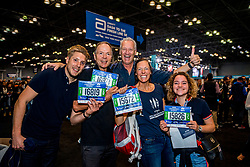 02-11-2018 USA: NYC Marathon We Run 2 Change Diabetes day 1, New York<br /> The day to get up for your number at the Expo / Hans, Hans, Marijke, Kim, Lars