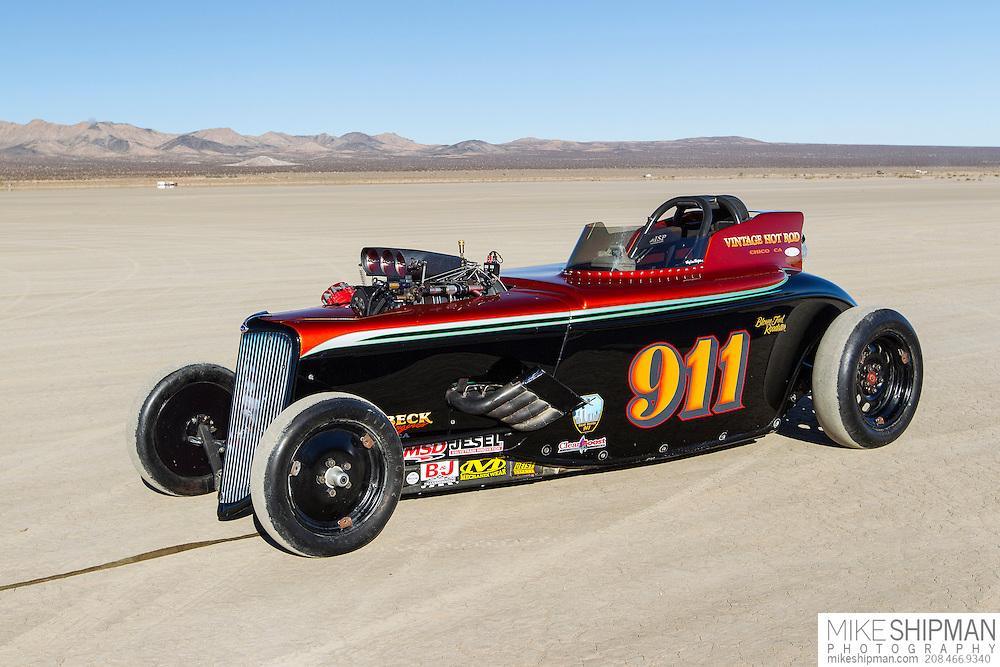 Cummins Beck Davidson Thornsberry, 911, eng C, body BFMR, driver Dave Davidson, 252.170 mph, record 256.410