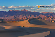 The Mesquite sand dunes in Death Valley National Park, California, USA