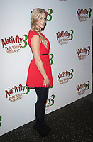 Anna Williamson at the 'Nativity 3: Dude Where's My Donkey?' film premiere at  the Vue West End, London photo by brian jordan