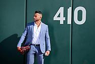 SCOTTSDALE, ARIZONA - JANUARY 27: David Peralta poses for lifestyle photos. (Photo by Sarah Sachs/Arizona Diamondbacks)