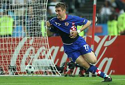 Ivan Klasnic of Croatia scored during the UEFA EURO 2008 Quarter-Final soccer match between Croatia and Turkey at Ernst-Happel Stadium, on June 20,2008, in Wien, Austria.  Won of Turkey after penalty shots. (Photo by Vid Ponikvar / Sportal Images)