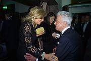 PRINCESS CHANTAL HANOVER; NICKY HASLAM,  Nicky Haslam hosts dinner at  Gigi's for Leslie Caron. 22 Woodstock St. London. W1C 2AR. 25 March 2015