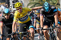 Sykkel<br /> 09.04.2013<br /> Tour de France<br /> Foto: PhotoNews/Digitalsport<br /> NORWAY ONLY<br /> <br /> SAINT-MALO, FRANCE - JULY 9: BOASSON HAGEN Edvald (NOR)   of SKY PROCYCLING - FROOME Christopher (GBR)   of SKY PROCYCLING - STANNARD Ian (GBR)   of SKY PROCYCLING  during the tenth stage of the 2013 Tour de France from Saint-Gildas-des-Bois to Saint-Malo on July 09, 2013 in Saint-Malo, France