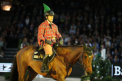 Schill Alexander, (GER), Cardea<br /> Speed and handiness competition with costumes<br /> Stuttgart - German Masters 2015<br /> © Hippo Foto - Stefan Lafrentz
