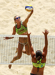 Erika Fabjan during Beach Volleyball Slovenian National Championship 2016, on July 23, 2016 in Kranj, Slovenia. Photo by Matic Klansek Velej / Sportida