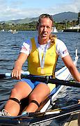 Hamilton, New Zealand, 2010  World Rowing Championships, Lake Karapiro Saturday  06/11/2010 SWE, W1X, Frida SVENSSON, with Gold Medal, after becoming World Champion [Mandatory Credit Karon Phillips/Intersport Images]