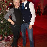 NLD/Hilversum/20151207- Sky Radio's Christmas Tree for Charity, Lone van Roosendaal en Barry Atsma