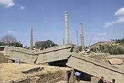 Africa, Ethiopia, Axum, obelisk