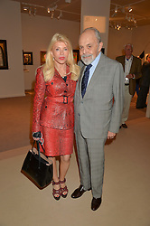 GILBERT & ELFIE LLOYD at the private preview of Masterpiece 2015 held at the Royal Hospital Chelsea, London on 24th June 2015.