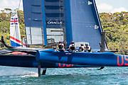 SailGP Practice race day. SailGP USA Team.