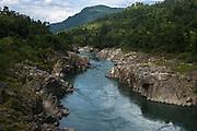 Subansiri River<br /> near Daporijo<br /> Arunachal Pradesh<br /> North East India