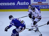Ishockey , Get - ligaen ,<br /> Kvartfinale 4/7<br /> 10.03.2012 <br /> Sparta Amfi<br /> Sparta Sarpsborg v Lillehammer I.K <br /> Foto:Dagfinn Limoseth  -  Digitalsport<br /> Stefan Sjødin  , Lillehammer