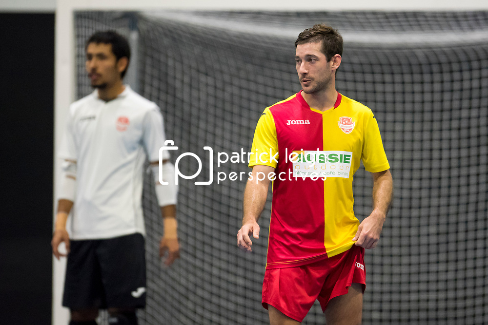 BRISBANE, AUSTRALIA - JUNE24:  during the Series Futsal Queensland Round 2 match between South Brisbane FC and Mansfield Futsal on June 24, 2017 in Brisbane, Australia. (Photo by Patrick Leigh Perspectives)