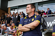 Burton Albion manager Nigel Clough during the EFL Sky Bet Championship match between Burton Albion and Sheffield Wednesday at the Pirelli Stadium, Burton upon Trent, England on 26 August 2017. Photo by Richard Holmes.