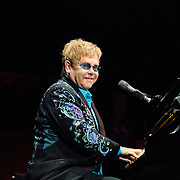 Elton John performs in support of The Union at Madison Square Garden in New York City, March 20, 2011. Copyright © 2011 Chris Owyoung.