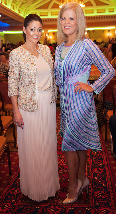 Mandy Maher , Catwalk Models and  Marietta Doran Fashion Consultant at A Vintage and Pre-Loved Fashion Extravaganza held in the Lady Gregory Hotel in Gort . A fundraising event organised by the Parents Council for Seamount's new pitch.  Photo:Andrew Downes