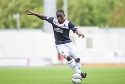 Falkirk's Olu Durojaiye.<br /> Falkirk 3 v 0 Morton, Scottish Championship 17/8/2013.<br /> ©Michael Schofield.
