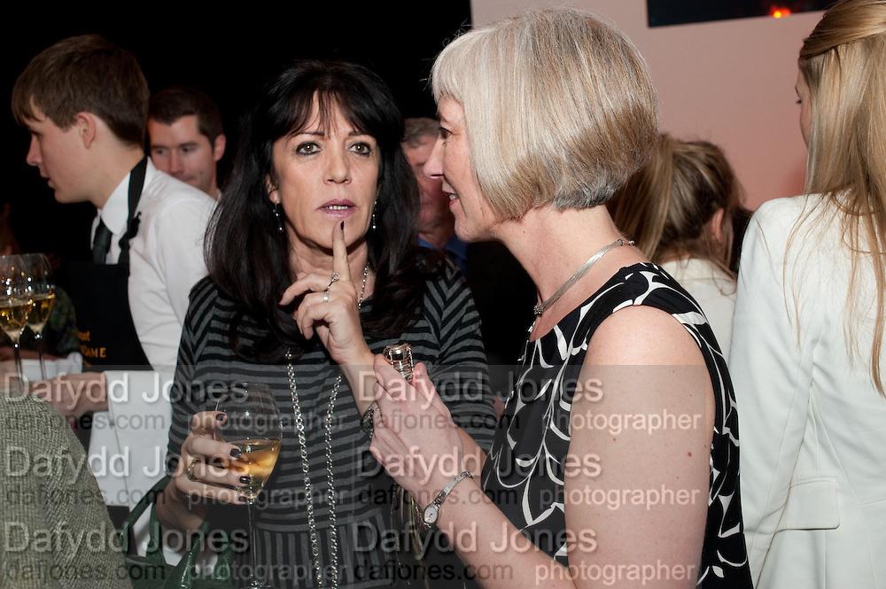GAIL REBUCK; MICHELLE MCDOWELL, The Veuve Clicquot Businesswoman of the Year  Award. Claridge's, London.  March 28 2011. ,-DO NOT ARCHIVE-© Copyright Photograph by Dafydd Jones. 248 Clapham Rd. London SW9 0PZ. Tel 0207 820 0771. www.dafjones.com.