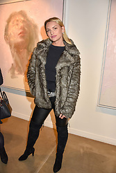 12 December 2019 - Fancy Alexandersson at a private view of Lethe by Henrik Uldalen at JD Malat Gallery. 30 Davies Street, London.<br /> <br /> Photo by Dominic O'Neill/Desmond O'Neill Features Ltd.  +44(0)1306 731608  www.donfeatures.com